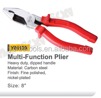 Y01139 8.0INCH Multi function prefessional combination plier