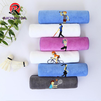 Gym Thickening Microfiber Absorbent Sports Towel