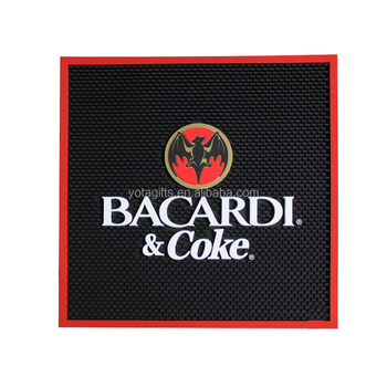 Special shape logo bar mats