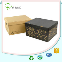 OEM wholesale coated paper hard drive packing box