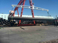 SSAW for oil and gas pipe project