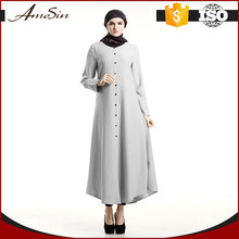 AMESIN Dubai Abaya type pink or grey cheap islamic clothing online