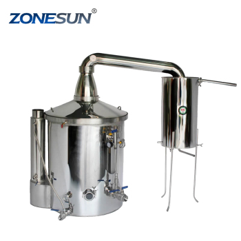ZONEUSN Household Stainless Steel Home Wine Brewing Device 70L Alcohol Distiller/Wine Maker English Manual+11 Gifts