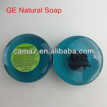 2015 Hot!!!!!!!!!! Ge negative ions Handmade essential oil soap with essential oil and vacuum seal packing