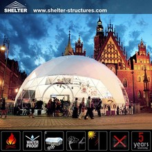 Temporary prefab house dome tent for sale