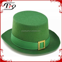 St Patrick's day hat with plastic buckle