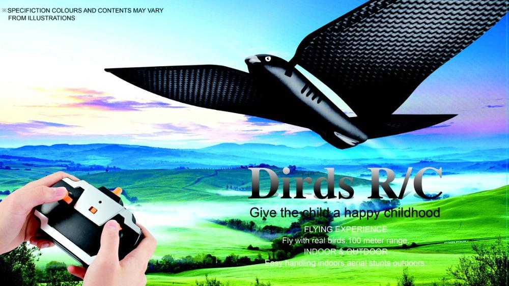 New desigh 4channel rc bird,high qualityity remote control toy,2.4G emulational bird rc toy