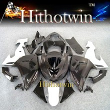 For Kawasaki Ninja ZX10R ZX-10R ZX10 2006 2007 Aftermarket Fairing ZX 10R 06 07 all black Silvery white ABS Plastic ZX 10R Bodyw