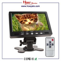 2016 Portable HDMI Input LCD Monitor 7inch With AV VGA HDMI Car Monito
