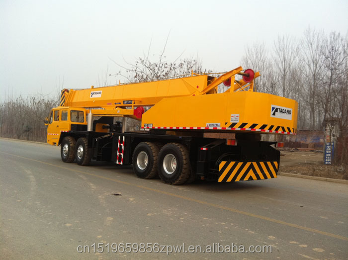 Used best price 80 90 100 120 ton truck crane Japan TADANO TG-1000M-3-10101 mobile Crane for sale!