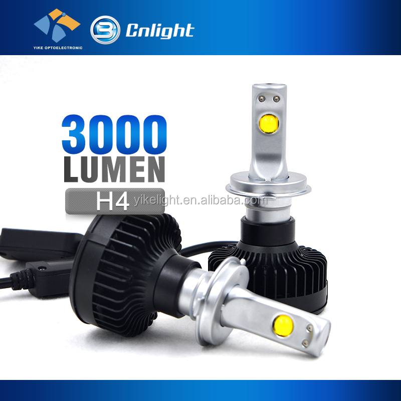 Cnlight Yike German Quality Japanese Inspection 12v car 3000lm H4 automobile headlight manufacturer