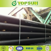 ductile iron pipe price 6 meter K9