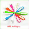 2015 New fashion Flexible USB LED Lamp portable USB LED lights For Power bank Computer Led Lamp 5 color in stock