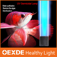 New style!!! 220V submersible uv germicidal lamp 9w led aquarium light