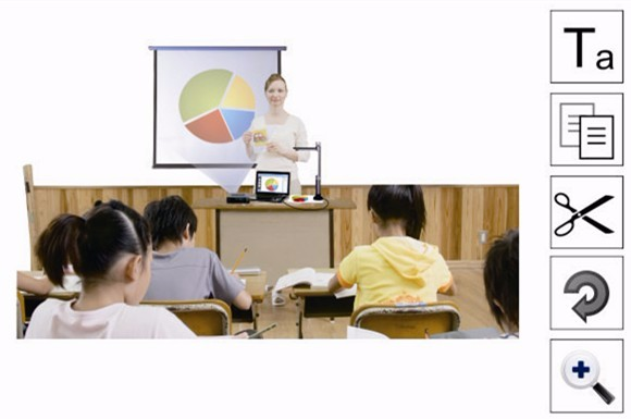 NEW factory offer 5.0 mega high definition digital document camera 1/3 CMOS for interative whiteboard
