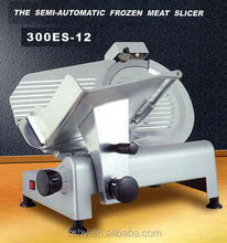 CE Semi automatic meat slicer with S/S blade