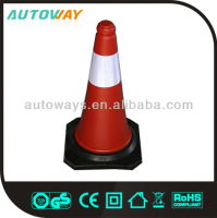 Retractable safety reflective traffic cone