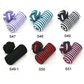 Wholesale custom silk knot cufflinks barrel elastic cufflinks