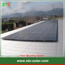 Trapezoidal Pitched Tin Rooftop Aluminum Solar Mounting/Mount/Mounts System