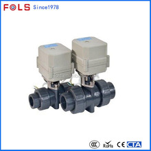 Professional electric plastic upvc pvc motor operated ball valves manufacturer