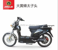 60v 30Ah strong power fax speed electric motorcycle campaign with gas motorcycle