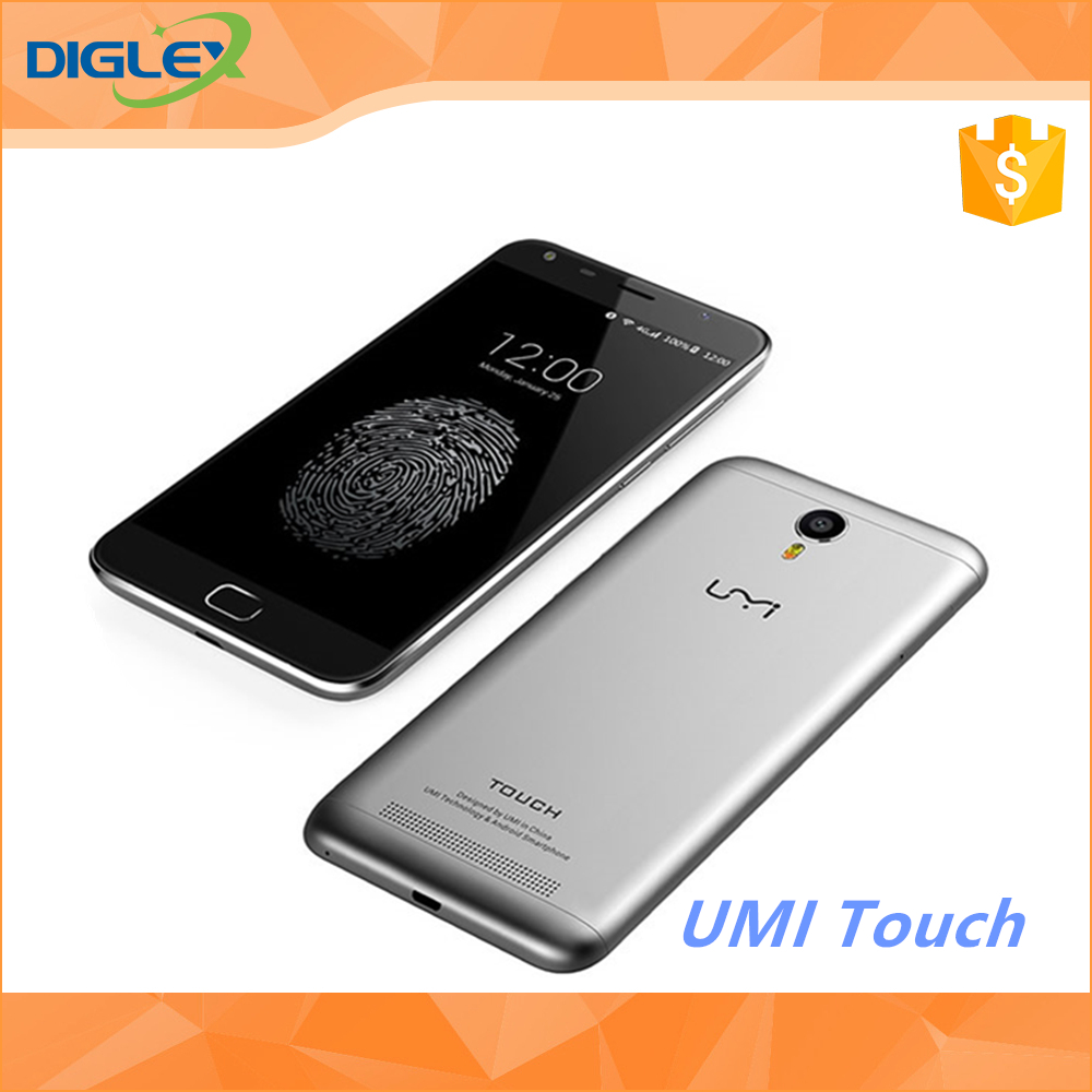 New & Original UMI TOUCH 4G Smartphone Android 6.0 Octa Core 5.5INVH 3GB RAM 16GB ROM 4000mAh umi mobile phone