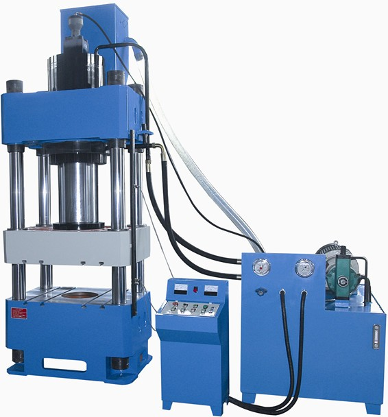 Y32 series 4 four column hydraulic press machine 5 ton