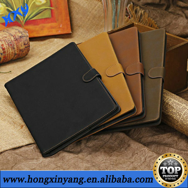 Retro PU Leather Flip Card Cover Case Stand For Ipad 2 3 4.