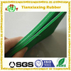 Custom color natural rubber foam sheet with fabric surface