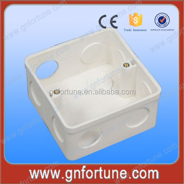 Wholesale 3X6 PVC Fireproof Electrical Outlet Boxes