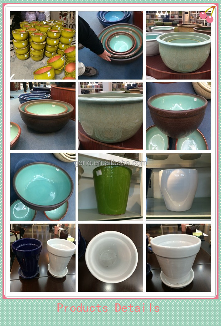 Custom cheap ceramic glazed fish pot for home decor buy for Where can i find cheap home decor