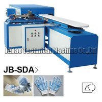 Fast JB-SDA cotton glove PVC dotting and priting machine