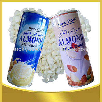 almond juice drink plant protein beverage