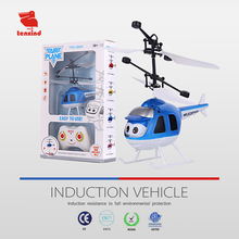 TXD366-3 cheap infrared induction RC cartoon aircraft 4 rotor mini flying helicopter toy