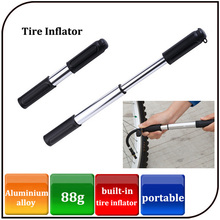 Aluminium alloy mini bicycle pump Bicycle tire inflator