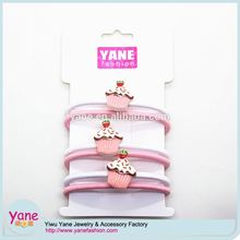 Light color elastic short hair band for baby girl hair decoration