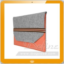 New Custom Woolen Felt Laptop Case Sleeve Computer Bag Table Cover Notebook