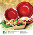 Food grade fast food tray paper packaging tray for cake