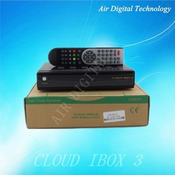 echolink digital biss satellite receiver cloud ibox 3 internet tv decoder wifi receiver for tv set top box for Spain