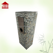 Standing mailbox outdoor with newspaper holder wholesale mailbox