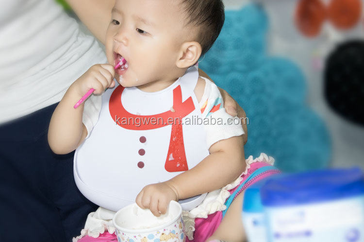 J04012 2605939 High quality factory wholesale FDA food grade silicone baby bib for kids