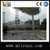 Fashionable Safety Strong Stage Roof Used Truss Equipment For Sale