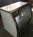 glass display refrigerated cabinet