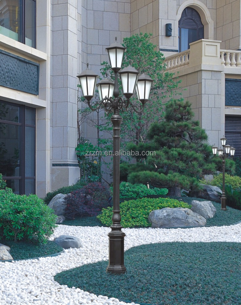 Outdoor Decoration 3~4M waterproof LED garden light lamp CE certification garden light