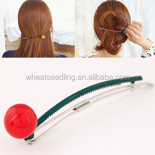 Jinhua top selling alibaba resin on korean hair extension clip in
