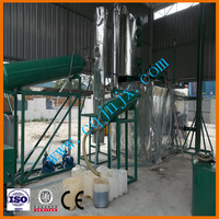 Small-scale refinery change black oil into yellow oil ! JNC china used motor oil recycling