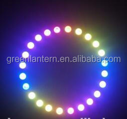 LED Pixel Ring WS2812B NEON PIXEL RING, 5050 Rigid LED Ring 24LED/m