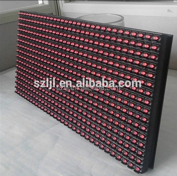 Hot Product 32*16 Red P10 outdoor LED Electronic display Module