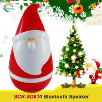 Christmas Gift Bluetooth Speaker Santa Claus