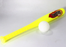 kids mini eco-freidly plastic baseball bat and ball set